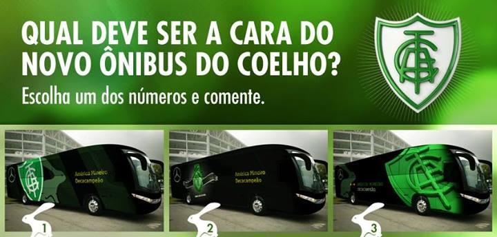 América Futebol Clube's 3 Buses