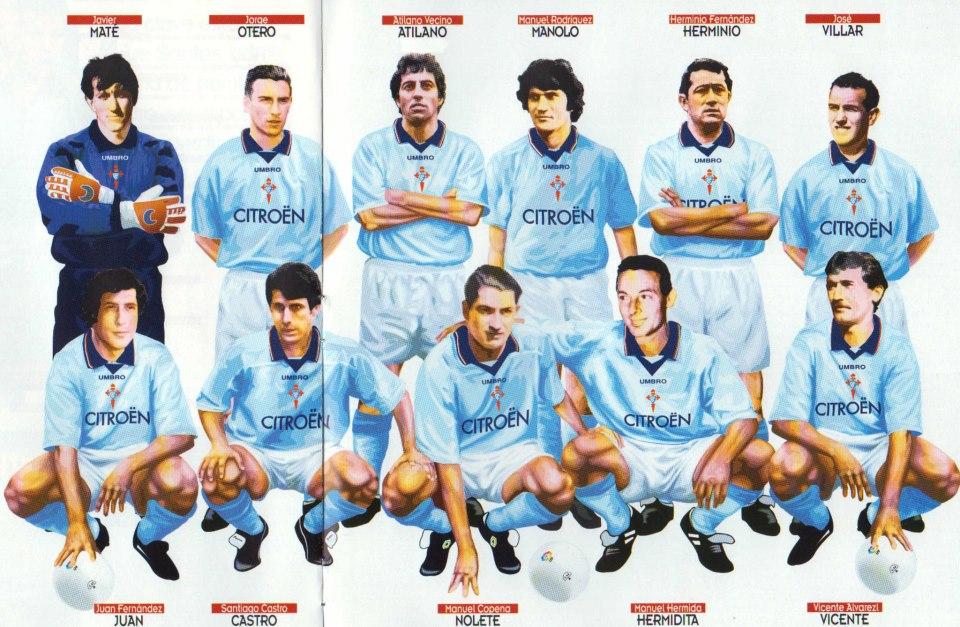 celta 25ideal hasta 1996
